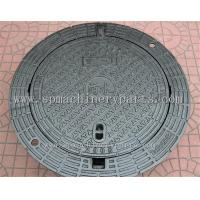 Quality High Quality Iron Cast Lockable Hinged Manhole Covers Make In China for sale