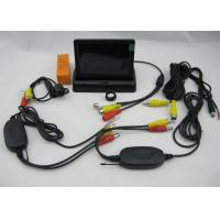 Quality Car 2.4GWireless Rearview Camera System + 4.3 Inch POP-UP Monitor for sale