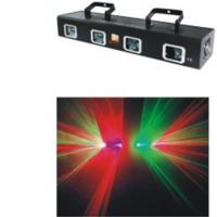 Quality Four Head Red And Green Laser Stage Lighting AC110 / 240V Stage Light for sale