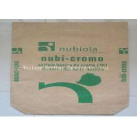 Quality Recyclable Kraft Paper Charcoal Packaging Bags For All Natural Hardwood Briquets for sale