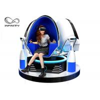Quality Colorful Cabin 9D VR Game Machine / Virtual Reality Egg Chair for sale