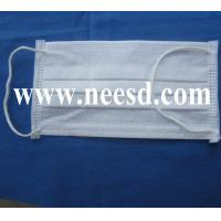 Quality Cleanroom 3 Layers Nonwoven Face Mask for sale