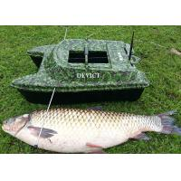 Quality Gps fish finder  DEVC-308 camouflage DEVICT fishing robot carp fishing bait boat for sale