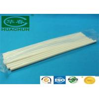 Quality Hot melt adhesive opaque white hot melt glue stick 7mm diameter for sale
