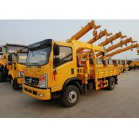 Buy cheap 10 T Electric Driven Truck Mounted Hydraulic Crane Lifting / Unloading from wholesalers