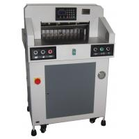 China Electric Automatic Programmable Guillotine Paper Cutter 490mm Cutting Size on sale