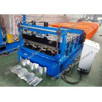 Quality Composite Decking Sheet Metal Roller , Steel Roll Formers High Performance for sale
