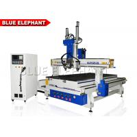 Quality 4 Axis Multi - Head CNC Router / Multi Spindle CNC Router For Wooden Chair Legs for sale