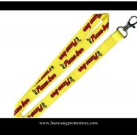 Best custom lanyards from manufacturer polyester lanyard strap with plastic buckle wholesale