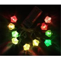 Best battery operated mini led lights diamond shaped christmas string wholesale