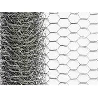 Quality Utility Galvanized Hexagonal Chain Link Wire Mesh Fencing For Garden Zone 24 Inch X 50 Ft for sale