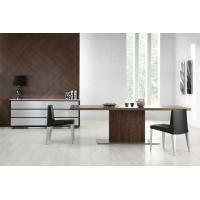 China Contemporary Simple Black Walnut Dining Table / Home Office Desk on sale