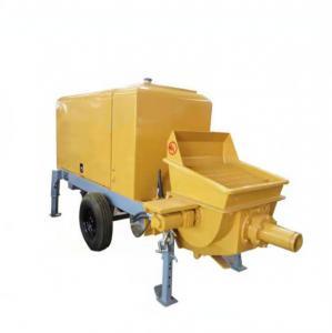 Quality PLC 2200r/Min 20m3/H Portable Concrete Pump Machine for sale