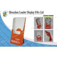 Buy cheap Supermarket Recycle Foldable Corrugated Carton Displays With Pantone Color from wholesalers