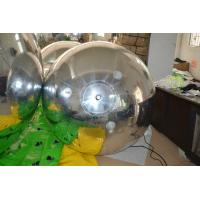 Quality OEM Clear Inflatable Mirror Ball / Balloons Ornaments For Decoration for sale