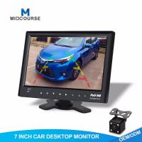 Quality 7 Inch TFT LCD Car Dashboard Lcd Touchscreen Monitor With Rear View Camera for sale