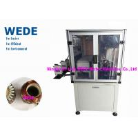 Quality Auto Wire Cut Armature Winding Machine Multi Stations For Exhaust Fan Motor for sale