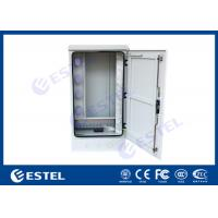 """Quality IP65 Outdoor Cabinet, Exterior Cabinet, Optical Fiber Cabinet, 19"""" 20U,  with Cable Organizer, Roxtec Cable Inlet for sale"""