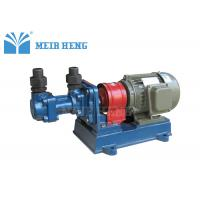 Quality Small Screw Oil Transfer Pump / Rotary Positive Displacement Pumps For Lubrication Oil for sale
