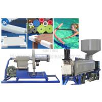 Quality Insulation Pipe Pe Foam Extrusion Line , EPE PE Pipe Extrusion Machine CE Approval for sale