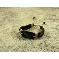 Quality Fashion Leather Bracelet Jewelry (LB-003) for sale