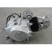 Quality Siver Color Motorcycle Engine Assembly , 50CC Motorcycle Engine Manual Clutch for sale