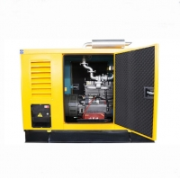 Quality Water Cooling 380V AC 50KW Rain Proof Diesel Genset for sale