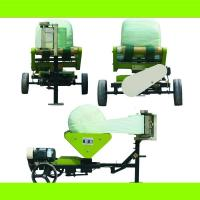 China hot sell round silage wrapping machine on sale