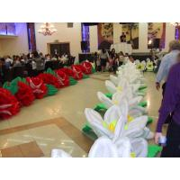 China Giant Wedding Flower Inflatable Flower String for Stage and Wedding Decoration on sale