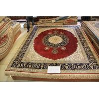 China handmade oriental silk rug , different size and design ,100% pure hand knotted on sale