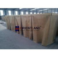 Quality Square Hole Hesco Container Defensive Barrier Fence For Military MIL 1 for sale