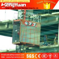 Quality Single Cage and Double Cages Construction Cargo Elevator for sale