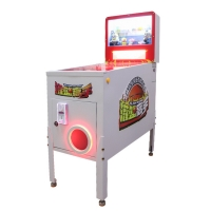 Quality Samdunk True Ball Coin Operated True Pinball Game Machine Return Ticket Capsule Toys And Cola Arcade Pinball Machine for sale