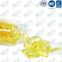 Quality Natural Origin Vitamin E Oil Pills , Vitamin E Softgel IP Certificated Soybean Source for sale