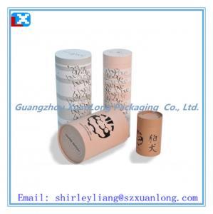 China kraft paper tube box for tea on sale