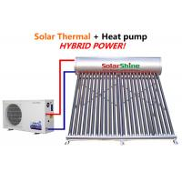 Quality Safety Solar Heat Pump Water Heater , Solar Powered Heat Pump System for sale
