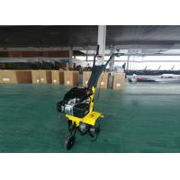 Quality Small Gas Powered Tiller 196cc 6.5HP Engine Hand Held Tiller Agriculture Tools for sale