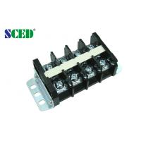 Quality High Current PCB Barrier Terminal Block Connector 19.00mm Pitch 600V 60A for sale