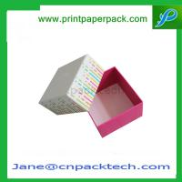 China OEM Fashion Design Color Print Packaging Custom Paper Box Lid Box Paper Gift Box on sale