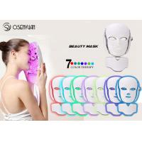 Buy PDT LED Light Therapy Face Mask , Led Photon Therapy Mask CE ROHS Approved at wholesale prices