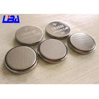 Buy cheap Durable Lithium Button Batteries Green Power 240mAh 3v  For Electric Toys from wholesalers