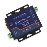 Quality [USR-TCP232-410s] Industrial Serial to Ethernet converter, RS232 RS485 to TCP/IP converter for sale