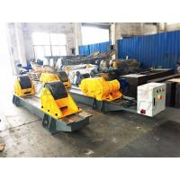 Quality 120 Ton Pressure Vessel Tank Turning Rolls Conventional Bolt Adjustable Steel Rollers for sale
