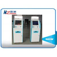 China Android system self service visa kiosk with A4 laser printer used in airport on sale