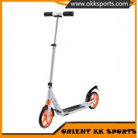 Buy cheap HOT 200mm pu big wheel adult kick scooter, pro scooter, folding foot scooter from wholesalers