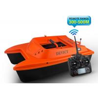Quality Orange Sea fishing bait boat DEVC-302 remote frequency 2.4G RoHS Certification for sale