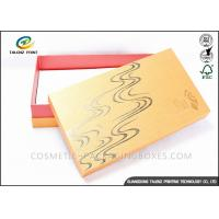 Quality Bright Colored Cardboard Gift Boxes Matt Laminated Finishing 25x15x3cm Dimension for sale