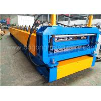 Quality 550MPa Corrugated Steel Panel Roll Forming Machine for sale