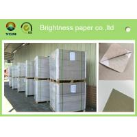 China Offset Printing 0.42mm Thick Paper Board Duplex Board Grey Back Single Side Coat on sale