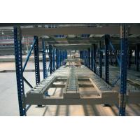 China long pipes Powder Coated pallet flow rack , steel gravity flow racking on sale